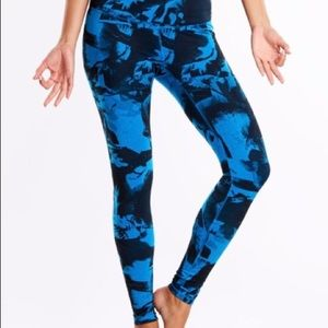 LUCY | Cobalt Hatha Yoga Running Workout Leggings